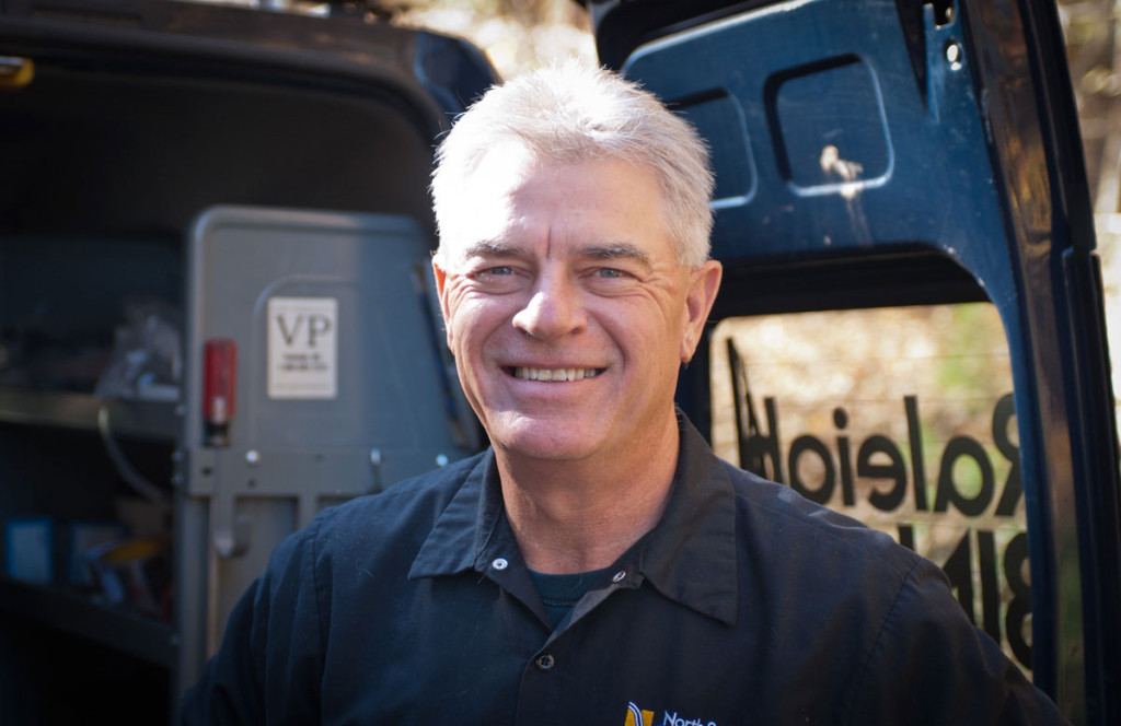 master plumber Richard McMinis of North Raleigh Plumbing